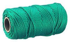 Connex Mehrzweckseil 1,7mm x100 m Polypropylen Grün 8 Fach Geflochten NEU
