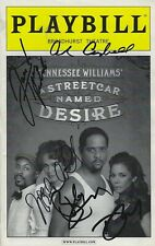 Streetcar Named Desire Broadway Playbill July 2012 Signed Autographed Underword