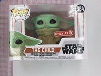 Funko Pop! Disney Star Wars The Child 384 Target Excl Mandalorian NOT MINT H052