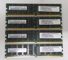 SUN 16GB KIT (4X4GB) SAMSUNG PC2-5300P 667MHz 2Rx4 ECC SERVER RAM