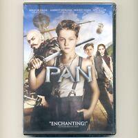 Pan 2015 PG family action adventure movie new DVD Jackman, Hedlund, Mara, Miller