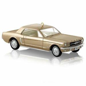 2014 Hallmark Ornament * RARE 1965 Mustang FREE USA Shipping on This Collectible