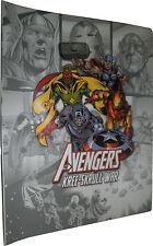 Avengers Kree-Skrull War Complete 253 Card Master Set with Binder