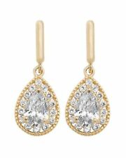 Cubic Zirconia Beauty Costume Earrings
