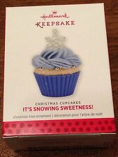 Hallmark 2013 Ornament - It's Snowing Sweetness! - 4th In The Christmas Cupcakes