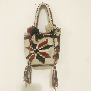 Handmade WAYUU Mini Mochila Bag