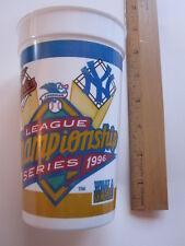 Baltimore Orioles vs New York Yankees staduim plastic cup 1996 Alcs