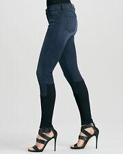 $231 NEW J Brand 8066 Photo Ready Stepped Hem Ultra Skinny Jean in Snowbird 24