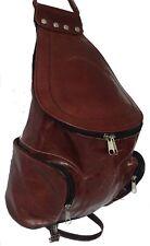 Echt Leder Rucksack Schultertasche Tasche Ledertasche Handtasche Handy Bag NEU