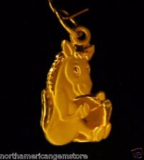 1.46 g Lucky Horse 777 Gold Pedant Nugget (91.6% Gold or 22 K Gold)