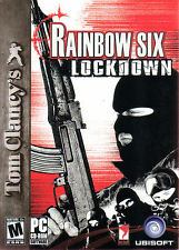 Rainbow Six LOCKDOWN  Terror Shooter PC Game NEW in BOX