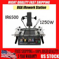 Ir6500 1250w Bga Infrared Rework Station Reflow Reball For Xbox 360 Ps3 Us Stock