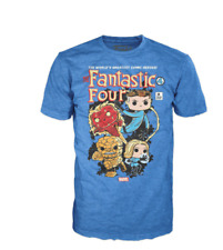 Funko Pop! Tee Fantastic Four  Marvel Collector Corps Exclusive T-Shirt XS