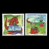 Luxembourg 2010 - Europa Children's Book Cartoon Animation Art - Sc 1293/4 MNH