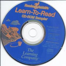 Reader Rabbit Learn to Read Cd (kids learn Cd sampler fun educational early age)
