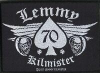 Motorhead Lemmy 70 Woven Patch
