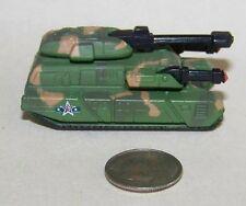 Small  Micro Machine Plastic Military Puma Tank in Green  Camo