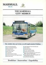 "Specification Sheet ~ Marshall Bus - ""City"" Midibus: MAN 11.220: Thamesdown 190"
