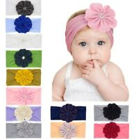 12 Pcs Kids Girl Baby Headband Toddler Lace Bow Flower Hair Band Accessories US