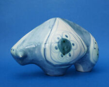 Blue Earthenware Decorative Pottery