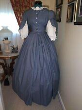 Sale Save 15% Civil War Reenactment Fancy Day Dress Size 10 Was $200 Now $169