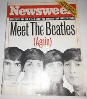 Newsweek Magazine The Beatles & John Lennon & Ringo October 1995 080914R