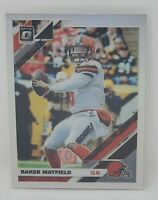 2019 Optic Silver Holo Prizm Refractor Cleveland Browns BAKER MAYFIELD Card MINT