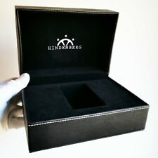 Scatola HINDENBERG watch box custodia orologio fodero quartz automatico case
