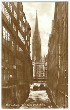 AK, Hamburg, Fleet beim Steckelhörn, ca. 1928
