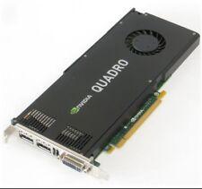 NVIDIA QUADRO K4000, 3GB GDDR 5 192-bit, PCI-E 2.0 x16, scheda grafica