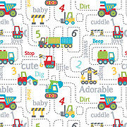 TRUCKS, DIGGERS CUTE TAG BLANETS FOR BABY BOYS TO BE PERSONALISED : GREAT GIFT :
