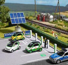 Busch 1160 HO: Electro-tankstation met 6 zuilen