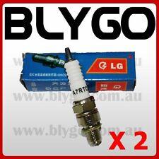 2X LG A7TC Spark Plug 110cc 125cc 140cc PIT PRO Trail Quad Dirt Bike ATV Buggy