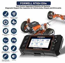 FOXWELL NT624 Elite Full System Diagnostic Scanner Tool OBD2 ABS SRS Code Reader