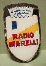 RADIO MARELLI SPECCHIETTO PUBBLICITARIO VALVOLE  TELEVISIONE TV RADIO VINTAGE