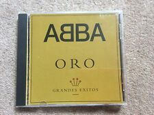 Rare Abba Latin Gold (Oro) Greatest Hits 1992 Pressing CD