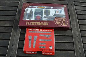 Fleischmann Spur N 9396 Starter Set und Rangierset 9190 Piccolo
