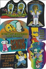 30 Mixed Simpsons Hologram Stickers 2006 Series
