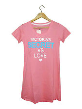 NEW! VS WOMEN'S SLEEP TEE (CORAL PINK, SIZE LARGE)