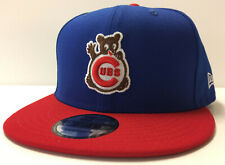Chicago Cubs New Era 9FIFTY MLB Snapback Hat Cooperstown Retro Waving Bear Cap