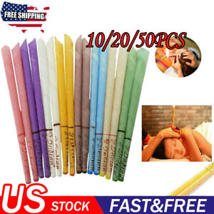 20Pcs Ear Wax Cleaner Removal Coning Fragrance Candles Healthy Hollow Clean Hot