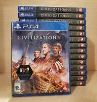 Civilization VI 6 - PlayStation 4, PS4 - Brand New/ Factory Sealed