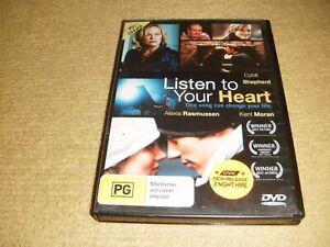 rare LISTEN TO YOUR HEART drama 2010 DVD near NEW Cybill Shepherd romance R4