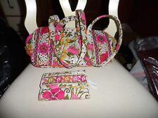 Vera Bradley small duffel style handbag and Euro Wallet in retired Tea GArden