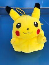 PIKACHU peluche porte range pyjama Pokemon Go Nintendo TOMY Plush soft toy rare