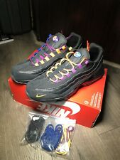 Details about Nike Mens Air Max 95 PRM LA Vs NYC Sneaker Shoes BlackRush Blue AT8505 001Sz 14