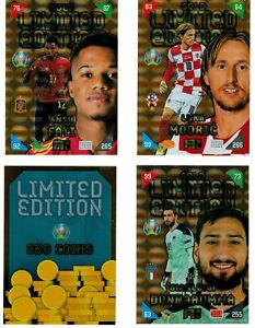 PANINI ADRENALYN EURO 2020 - 2021 KICK OFF SET COMPLETO GOLD LIMITED EDITION