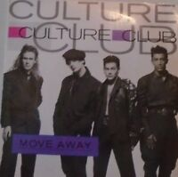 "CULTURE CLUB - Move Away ~ 7"" Single PS"