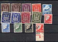 Deutsches Reich Luftpost postfr. ungebraucht und gestempelt siehe Scan