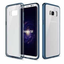 original rock sac de Silicone Transparent / Bleu pour Samsung Galaxy S8 plus